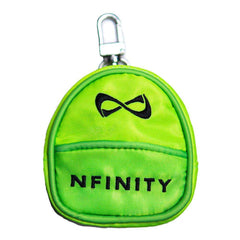 MINI BACKPACK KEYCHAIN Accessories NfinityiNsiders LIME