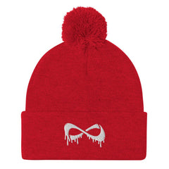 Pom-Pom Beanie Accessories Nfinity Red