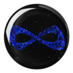 POP SOCKET Nfinity BLUE SPARKLE