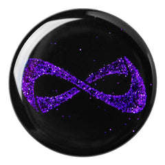 POP SOCKET Nfinity PURPLE SPARKLE