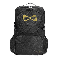 SPARKLE BACKPACK Backpack Nfinity BLACK/GOLD