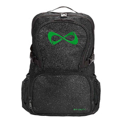 SPARKLE BACKPACK Backpack Nfinity BLACK/GREEN