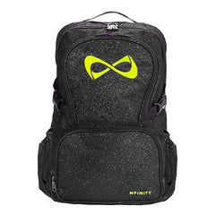 SPARKLE BACKPACK Backpack Nfinity BLACK/LIME