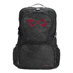 SPARKLE BACKPACK Backpack Nfinity BLACK/MAROON