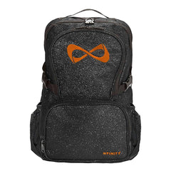 SPARKLE BACKPACK Backpack Nfinity BLACK/ORANGE