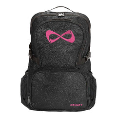 SPARKLE BACKPACK Backpack Nfinity BLACK/PINK