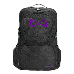 SPARKLE BACKPACK Backpack Nfinity BLACK/PURPLE