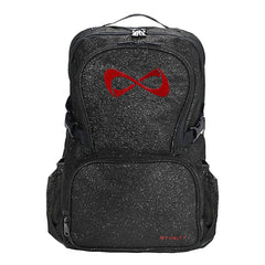SPARKLE BACKPACK Backpack Nfinity BLACK/RED