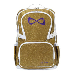 SPARKLE BACKPACK Backpack Nfinity GOLD/PURPLE