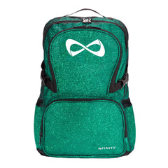 SPARKLE BACKPACK Backpack Nfinity GREEN/WHITE