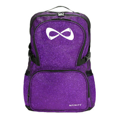 SPARKLE BACKPACK Backpack Nfinity PURPLE/WHITE