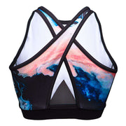 SWEDISH FALL CROSSED MESH BRA Sports Bra NfinityiNsiders