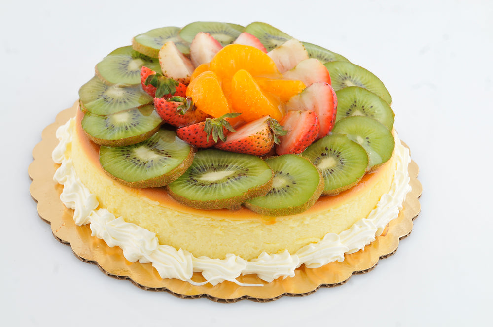 Cheesecake con Frutas Mixtas