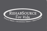 Rehab Source For Kids - Heathered Bright Turquoise T-shirt