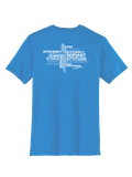 RS Values - Heathered Bright Turquoise T-shirt
