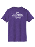 RS Values - Heathered Purple T-shirt