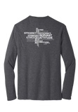 RS Values - Heathered Charcoal Long Sleeve