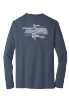 RS Values Long Sleeve in Heathered Navy