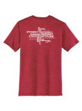 RS Values - Heathered Red T-shirt