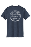 Rehab Source - Heathered Navy T-shirt - Ring