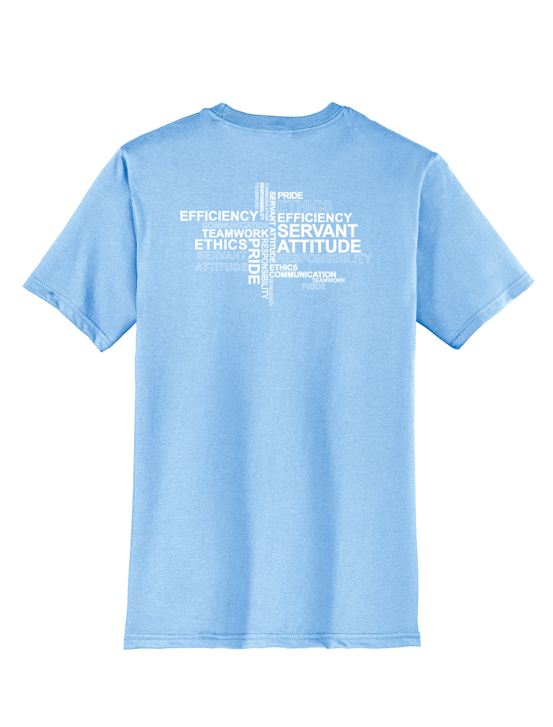 RS Values - Ice Blue T-shirt