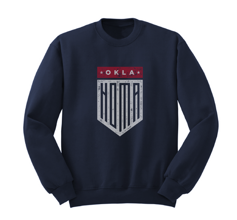 SWEATSHIRT-JUL18-OKLA Shield