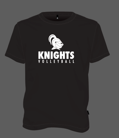 Knights Volleyball Helmet - Black