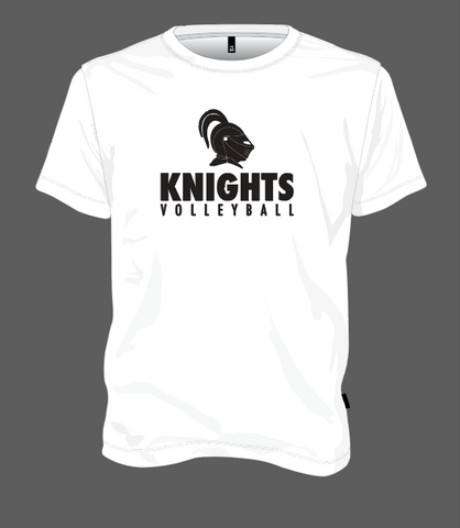 Knights Volleyball Helmet - White