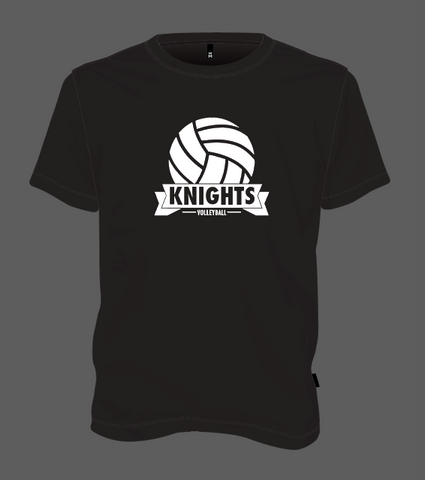 Knights Volleyball Ball - Black