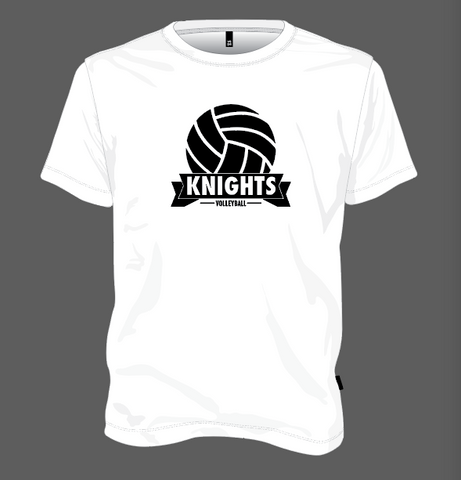 Knights Volleyball Ball - White