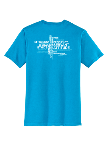 RS Values - Light Turquoise T-Shirt