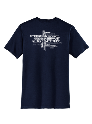 RS Values - New Navy T-shirt