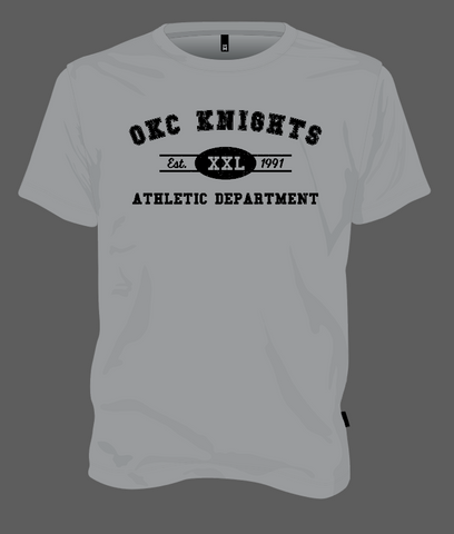 OKC Knights Athletic Dept. - Grey