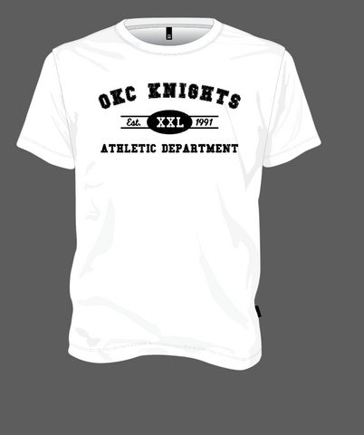 OKC Knights Athletic Dept. - White