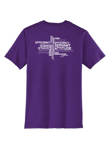 RS Values - Purple T-shirt