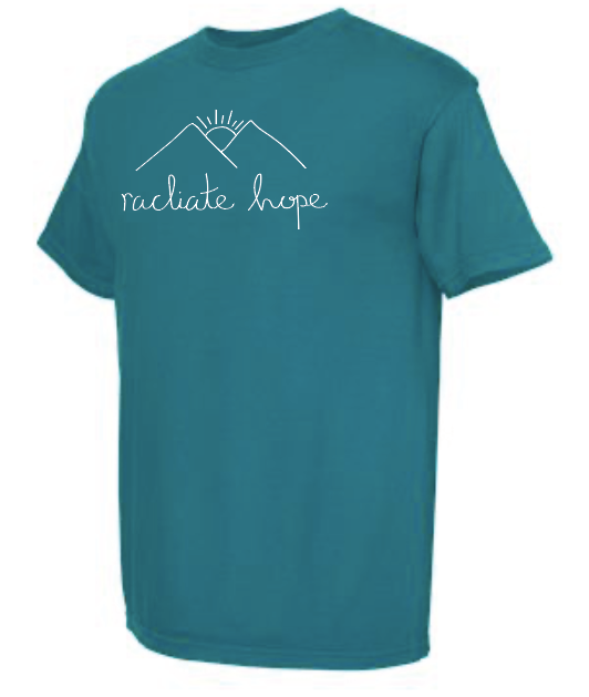Radiate Hope Short Sleeve - Topaz