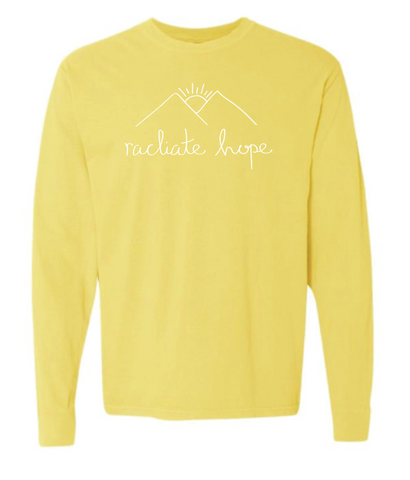 Radiate Hope Long Sleeve - Butter