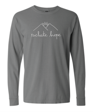 Radiate Hope Long Sleeve - Granite