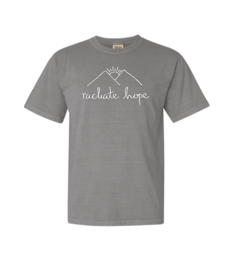 Radiate Hope Short Sleeve - Granite