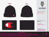 Cimarron Middle School Black Beanie