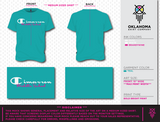 Cimarron Middle School Teal Tee - Youth