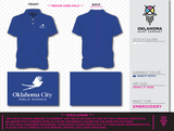 OKCPS Dri-Fit Polo - Royal Blue