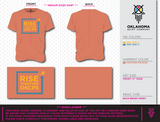 Rise Together - Orange Short Sleeve