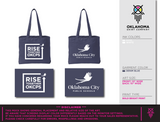 Rise Together - Navy Tote