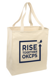 Rise Together - Natural Tote
