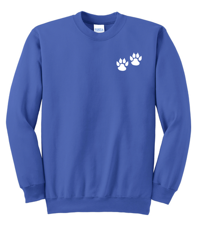 Pre-K Center at Johnson - Adult Royal Sweatshirt