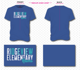 Ridgeview Elementary - Royal Blue Youth Tee