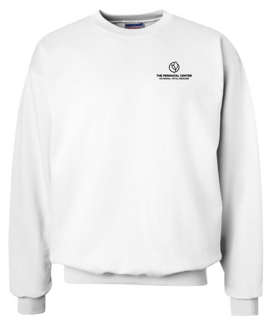 Perinatal Center Sweatshirt - White