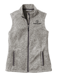 Perinatal Center Embroidered Sweater Fleece Vest