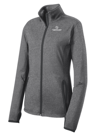 Perinatal Center Ladies Full Zip - Grey